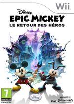 Jaquette Epic Mickey : Le Retour des héros