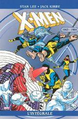 Couverture 1963-1964 - X-Men : L'Intégrale, tome 10
