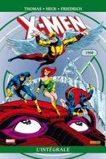Couverture 1968 - X-Men : L'Intégrale, tome 19