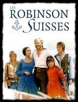 Affiche Les Robinsons Suisses