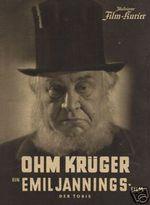 Affiche Le Président Krüger