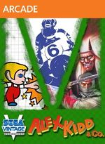 Jaquette Sega Vintage Collection : Alex Kidd & Co