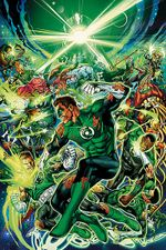 Couverture Green Lantern : War of the Green Lanterns