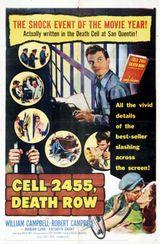 Affiche Cellule 2455, couloir de la mort
