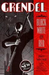 Couverture Grendel : Black and White and Red