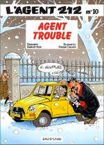 Couverture Agent trouble - L'agent 212, tome 10