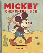 Couverture Mickey chercheur d'or - Albums Mickey, tome 2