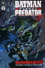 Couverture Batman versus Predator, tome 2