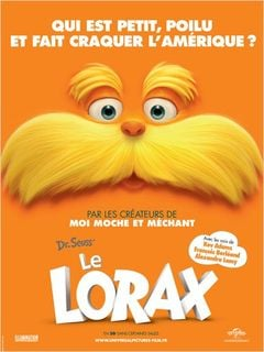 Affiche Le Lorax