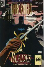 Couverture Batman: Blades