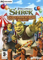 Jaquette Shrek : La Fête Foraine en délire - Mini-jeux
