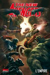 Couverture L'Empire - The New Avengers, tome 5