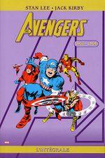 Couverture 1963-1964 - The Avengers : L'Intégrale, tome 1