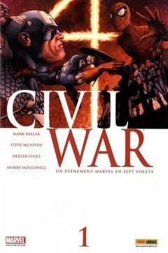 Couverture Civil War, tome 1