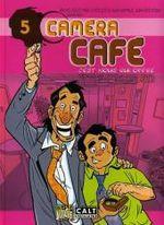 Couverture C'est nous qui offre - Caméra Café, tome 5
