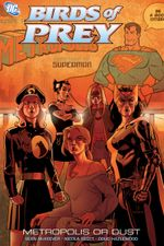 Couverture Birds of Prey: Metropolis or Dust