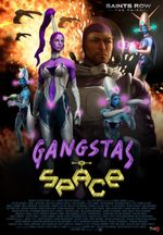 Jaquette Saints Row : The Third - Gangstas in Space