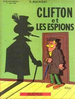 Couverture Clifton et les Espions