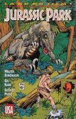 Couverture Jurassic Park : La BD du film
