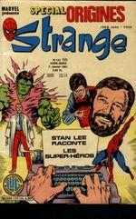 Couverture Strange Special Origines