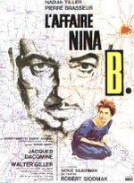 Affiche L'Affaire Nina B.