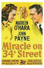 Affiche Le Miracle sur la 34ème rue
