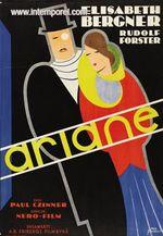 Affiche Ariane, jeune fille russe