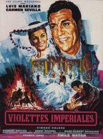 Affiche Violettes impériales