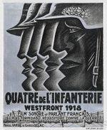 Affiche Quatre de l'infanterie