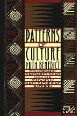 Couverture Patterns of Culture