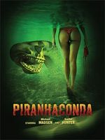Affiche Piranhaconda