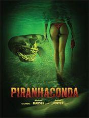 Affiche Piranhaconda