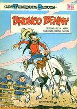 Couverture Bronco Benny - Les Tuniques bleues, tome 16