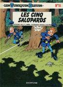 Couverture Les Cinq Salopards - Les Tuniques bleues, tome 21