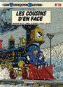 Couverture Les Cousins d'en face - les Tuniques bleues, tome 23