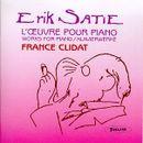 Pochette L'Œuvre pour piano (France Clidat)