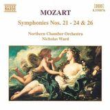 Pochette Symphonies Nos. 21-24 & 26