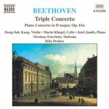 Pochette Triple Concerto / Piano Concerto in D major, op. 61a