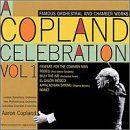 Pochette A Copland Celebration, Volume 1