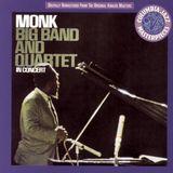 Pochette Monk: Big Band and Quartet in Concert (Live)