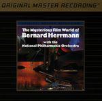 Pochette The Mysterious Film World of Bernard Herrmann (National Philharmonic Orchestra feat. conductor: Bernard Herrmann)