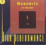 Pochette Horowitz at the Met (Live)
