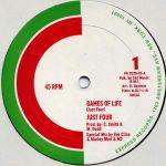 Pochette Games of Life (Single)
