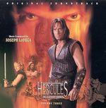 Pochette Hercules: The Legendary Journeys, Volume 3 (OST)