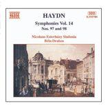 Pochette Symphonies, Volume 14: Nos. 97 and 98