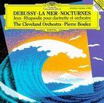 Pochette La Mer / Nocturnes / Jeux / Rhapsodie pour clarinette et orchestre