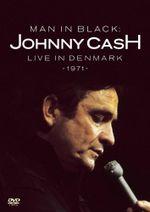 Pochette Man in Black: Live in Denmark 1971 (Live)
