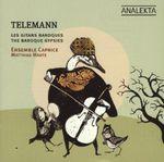 Pochette Telemann & les gitans baroques / Telemann and the Baroque Gypsies