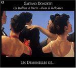 Pochette Un Italien à Paris - duos & mélodies
