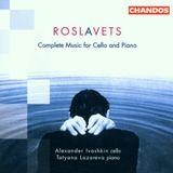 Pochette Complete Music for Cello and Piano